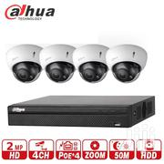 Dahua Dh Nvr 4ch Poe And Dahua Dh IP Hdcvi Camera | Cameras, Video Cameras & Accessories for sale in Greater Accra, Tema Metropolitan