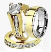Wedding Ring Set (Silver Gold Titanium) | Wedding Wear for sale in Greater Accra, Ga East Municipal