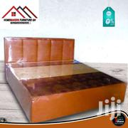 Luxy Leather Bed&Mattress | Furniture for sale in Greater Accra, East Legon (Okponglo)