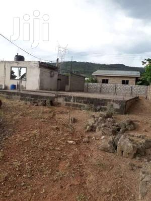 Uncompleted 5 Bedroom Storey Building Plan With Single Room At Oyarifa