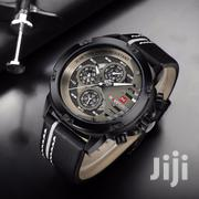 Fashion Life Genuine Men Leather Chronograph Watch | Watches for sale in Greater Accra, Abelemkpe