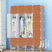 16 Cubes Plastic Wardrobe With Shoe Rack | Furniture for sale in Greater Accra, Avenor Area