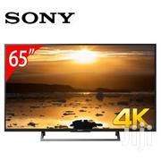"Quality Sony 65""UHD 4K Smart Ultra Slim HDR Pro TV 