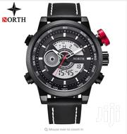 Dual Time North Leather Luxury Watch | Watches for sale in Greater Accra, Abelemkpe