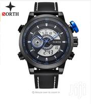 North Luxury Fashion Sports Watch BLUE BLACK | Watches for sale in Greater Accra, Abelemkpe