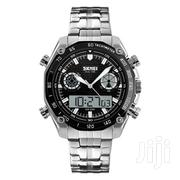 Standard Dual Movement Style Skmei Watch | Watches for sale in Greater Accra, Abelemkpe