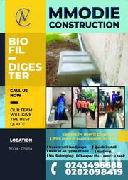 Bio Digester,With Free Wc ,, Uses Small Landscape ,No Dislodging  Etc | Building & Trades Services for sale in Greater Accra, Agbogbloshie