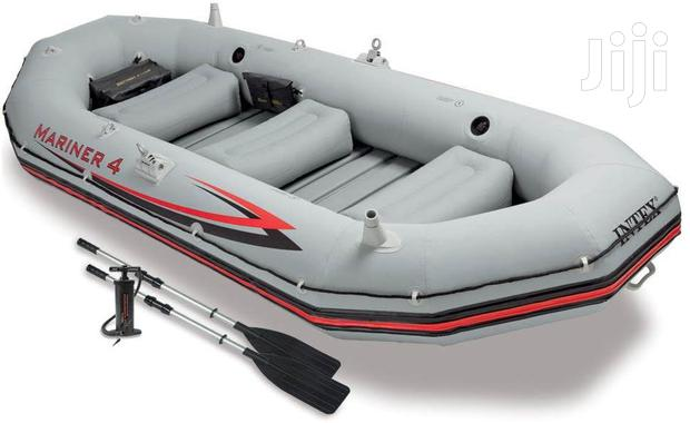 Archive: Inflatable Boat With Aboard Motor