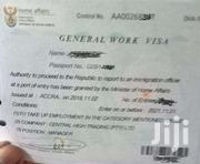 SOUTH AFRICA WORK PERMIT | Automotive Services for sale in Greater Accra, Accra new Town