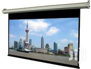 305 X 305 Cm Electronic Projector Screen | TV & DVD Equipment for sale in Greater Accra, Achimota