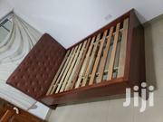 Brown Solid Bed | Furniture for sale in Greater Accra, Airport Residential Area