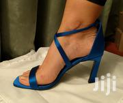 NEXT UK Forever Comfort Blue Satin Cross Over Strap Sandals | Shoes for sale in Greater Accra, Adenta Municipal