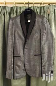 NEXT UK Silver Metallic Tuxedo Jacket | Clothing for sale in Greater Accra, Adenta Municipal