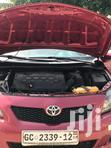 Toyota Corolla 2009 1.6 Advanced Red | Cars for sale in Alajo, Greater Accra, Nigeria