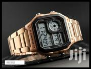 SKMEI 1335 Full Rosegold Stainless Steel Digital Watch | Watches for sale in Greater Accra, Abelemkpe
