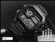 Digital Skmei Chain Watch Black | Jewelry for sale in Greater Accra, Abelemkpe