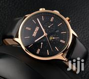 SKMEI 9117 Branded Good Quality Japanese-Quartz Real Leather Watch | Watches for sale in Greater Accra, Abelemkpe