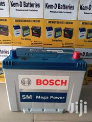 15 Plates Bosch Battery + Free Fast Delivery | Vehicle Parts & Accessories for sale in Greater Accra, Accra Metropolitan