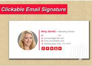 CLICKABLE HTML EMAIL SIGNATURE | Automotive Services for sale in Greater Accra, Ga West Municipal