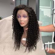 Top Quality Brazilian Kinky Curls Wig Cap With Ear To Ear Frontal | Hair Beauty for sale in Greater Accra, Kwashieman
