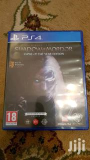 Shadow Of Mordor GOTY Edition PS4 | Video Games for sale in Greater Accra, Adenta Municipal
