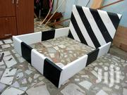 Black And White Bed For Sell | Furniture for sale in Greater Accra, Sempe New Town