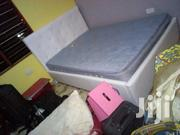 Lovely Double Bed With Matress for Sell | Furniture for sale in Greater Accra, Darkuman