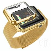 Stainless Steel Strap Iwatch Band+Adapter+Case Cover for Apple Watch | Watches for sale in Greater Accra, Achimota