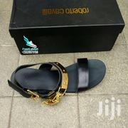 Black Nd Gold Zanotti Slippers | Shoes for sale in Greater Accra, East Legon