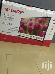 Sharp AQUOS 40 Inches 4K Ultra HD Smart | TV & DVD Equipment for sale in Greater Accra, Achimota