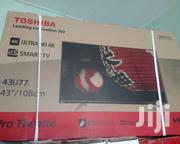 Brand New Toshiba 43 Inches Smart 4k Uhdtv | TV & DVD Equipment for sale in Greater Accra, Accra Metropolitan