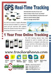 Advanced GPS Tracker | Vehicle Parts & Accessories for sale in Central Region
