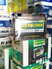15 Plates Boliden Battery 75ah 12V + Free Instant Delivery | Vehicle Parts & Accessories for sale in Greater Accra, Kokomlemle