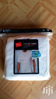 4pk Hanes Tagless T Shirts | Clothing for sale in Greater Accra, Ga East Municipal