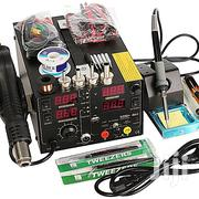 Rework Soldering Station + Hot Air Gun + DC Power Supply 3 In 1 | Electrical Tools for sale in Greater Accra, Tema Metropolitan