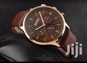 Excellent Quality Leather Chronograph Skmei Watch | Watches for sale in Greater Accra, Abelemkpe