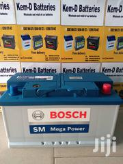 12volts 80ah Bosch Car Battery - Free Quick Delivery | Vehicle Parts & Accessories for sale in Greater Accra, North Kaneshie