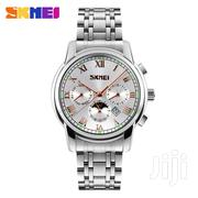 SKMEI Silver Chronograph Chain Watch | Jewelry for sale in Greater Accra, Abelemkpe