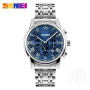 9121 Men's Luxury Business Automatic Moon Phase Chronograph Watc | Watches for sale in Greater Accra, Abelemkpe