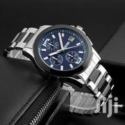 Stainless Steel Band Skmei Chronograph Watch BLUE. | Watches for sale in Greater Accra, Abelemkpe