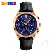 Analog Date Display Chronograph Leather Watch | Watches for sale in Greater Accra, Abelemkpe