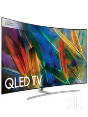 Samsung 65 Inches Qe65q8c Curved Qled Hdr 1500 4K Uhd Tv, | TV & DVD Equipment for sale in Greater Accra, Accra new Town