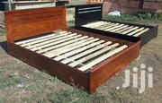 Durable and Solid Timber Double Bed | Furniture for sale in Greater Accra, Kanda Estate
