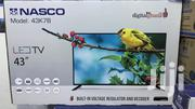 "New Nasco 43"" HD Digital Satellite LED TV 