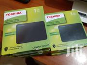 Toshiba Canvio Basics 1TB Portable External Hard Drive USB 3.0 Black | Computer Hardware for sale in Greater Accra, Akweteyman