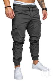 Men Sweatpants Joggers Pants With Cargo Pockets | Clothing for sale in Greater Accra, Burma Camp