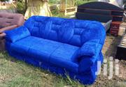 Blue Three Seaters Sofa | Furniture for sale in Greater Accra, Kokomlemle