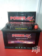 Power Jet 12v75ah Battery + Free Delivery | Vehicle Parts & Accessories for sale in Greater Accra, Abelemkpe