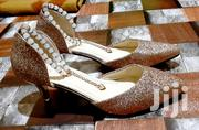 Stiletto High Heel Beaded Shoe [Gold Color] | Shoes for sale in Greater Accra, Adenta Municipal