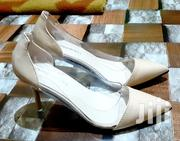 Pointed Toe Stiletto High Heel [Beige Color] | Shoes for sale in Greater Accra, Adenta Municipal